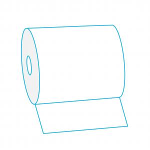 Хартиени кърпи за ръце на ролка