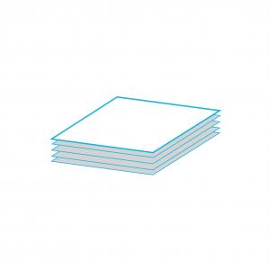 Тоалетна хартия на пачка / листи