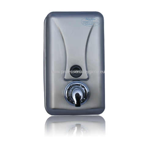 Дозатор за течен сапун AM на пяна - неръждаема стомана