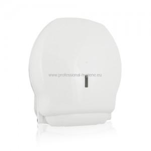 Дозатор за тоалетна хартия - бял